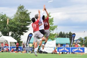 Ultimate Frisbee: Prevalence of injuries at a professional level